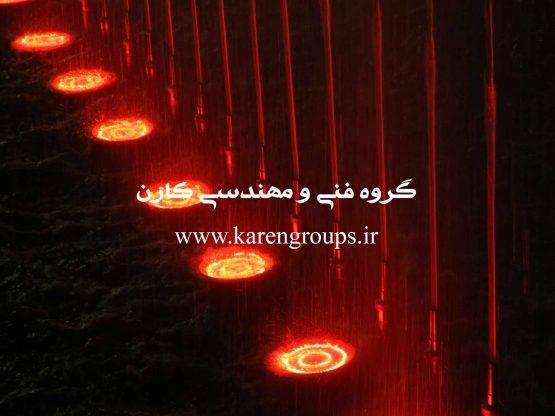 آبنمای مجتمع هایپرسان تهران