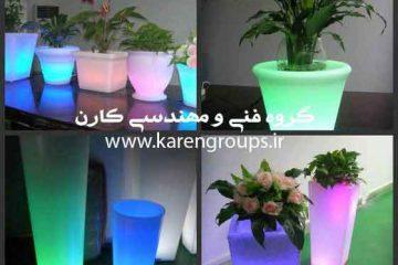 گلدان های نورانی